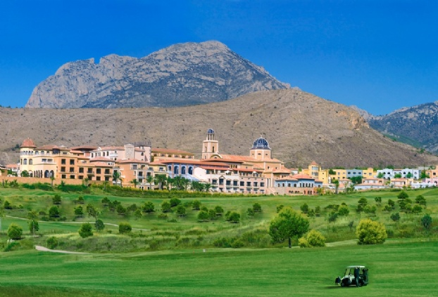 Golf breaks at Melia Villaitana, Spain. GRD Rating: 8.5