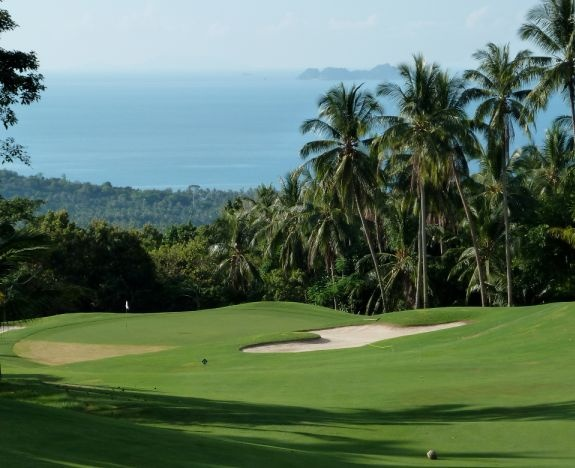 Golf breaks at Santiburi Beach Resort, Thailand. GRD Rating: 8.6