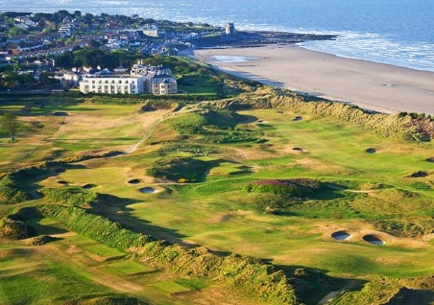 Golf breaks at Portmarnock Hotel & Golf Links, Ireland. GRD Rating: 8.7
