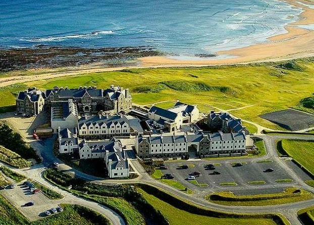 Golf breaks at Doonbeg, Ireland. GRD Rating: 8.8