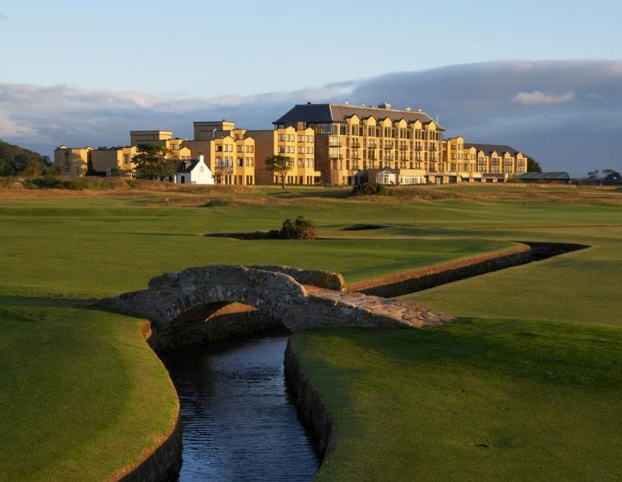 Golf breaks at The Old Course Hotel Golf Resort & Spa St Andrews, Scotland. GRD Rating: 8.9