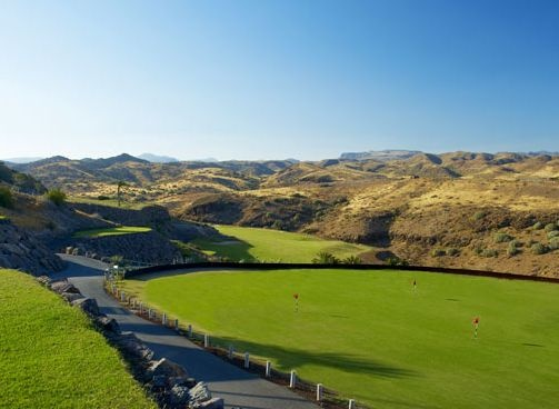 Golf breaks at Sheraton Salobre Golf Resort & Spa, Spain. GRD Rating: 8.4