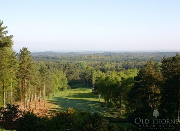 Old Thorns Manor Golf, England. GRD Rating: 8.6