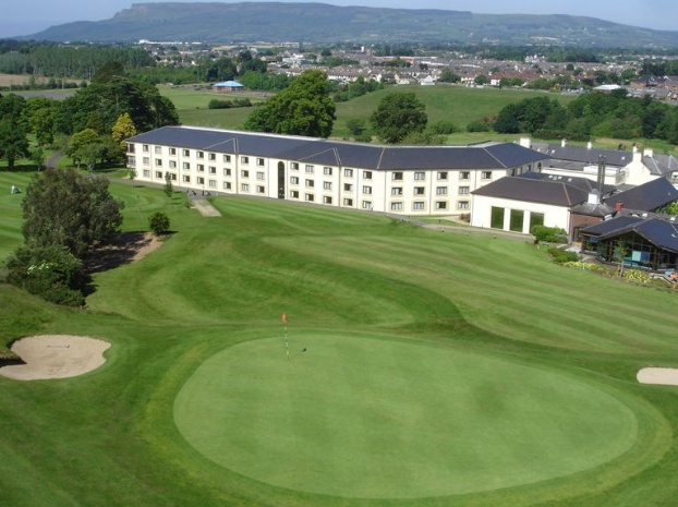 Golf breaks at Roe Park Resort, Northern Ireland. GRD Rating: 8.3