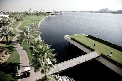 Golf breaks at Dubai Creek Golf & Yacht Club - Park Hyatt Dubai, United Arab Emirates. GRD Rating: 8.7