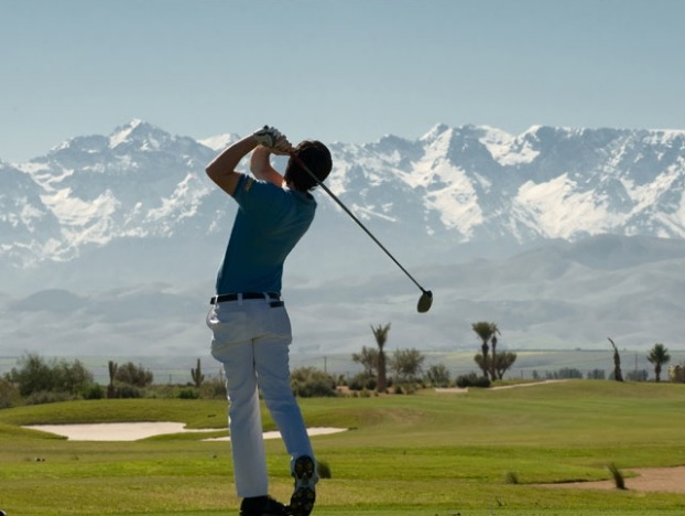 Golf breaks at Samanah Country Club, Morocco. GRD Rating: 8.7