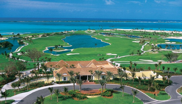 Golf breaks at Ocean Club, Bahamas. GRD Rating: 8.7