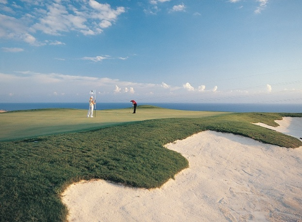 Golf breaks at Aphrodite Hills, Cyprus. GRD Rating: 8.7