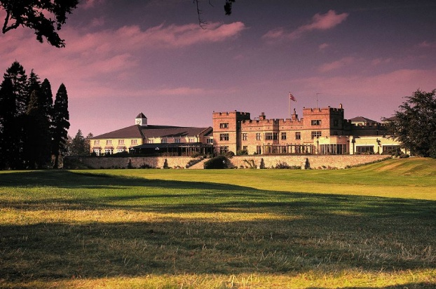Golf breaks at Slaley Hall, England. GRD Rating: 8.6