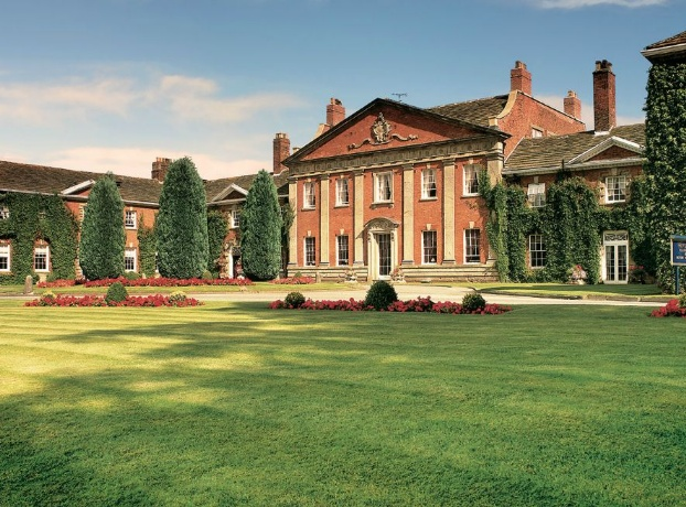 Golf breaks at Mottram Hall, England. GRD Rating: 8.6