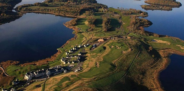 Golf breaks at Lough Erne Golf Resort, Northern Ireland. GRD Rating: 8.8