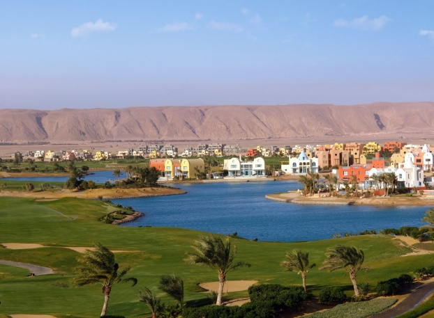 Golf breaks at El Gouna, Egypt. GRD Rating: 8.6
